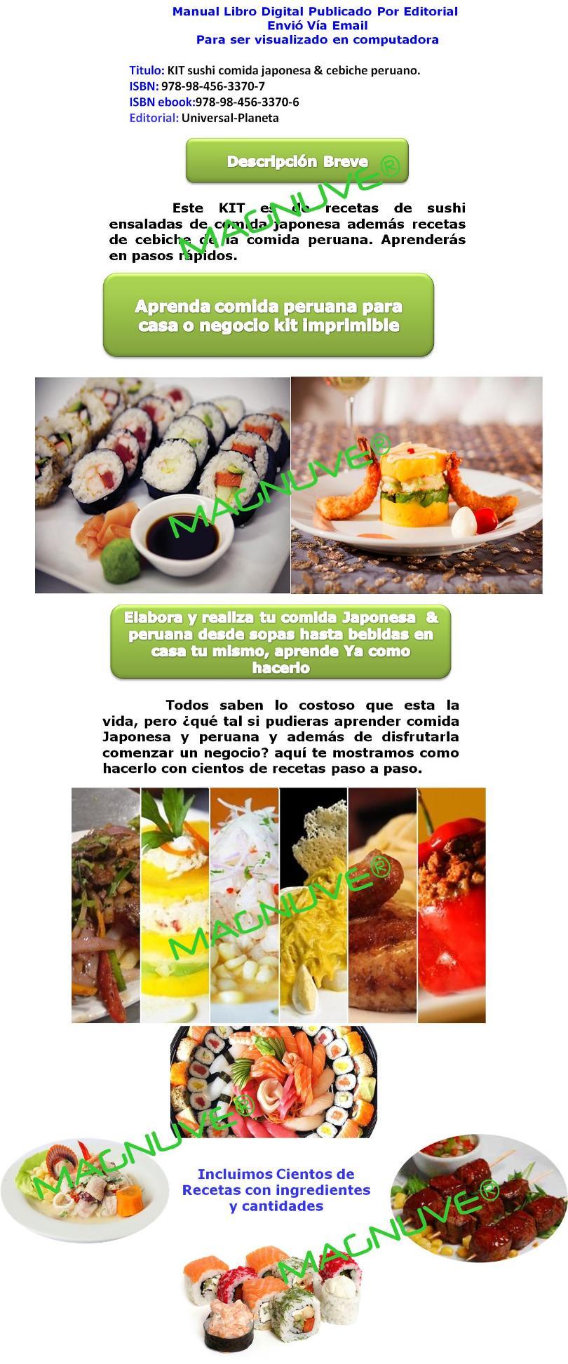 sushi comida